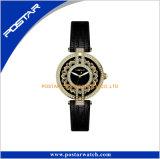 La marca di lusso propri guarda l'orologio del Giappone Movt dell'incastronatura del quarzo