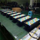 72X3w LED RGBW Ville lumière extérieure de couleur