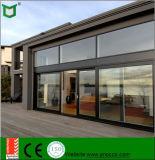 Vidrio aluminio Lift-Sliding puerta con Hardware alemán