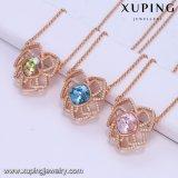 44015 de Hete Kristallen van de Manier van de Verkoop Xuping van de Halsband van Swarovski Afrika voor Dames