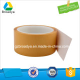 fita autoadesiva branca solvente do PVC do papel de papel glassine 200mic (1240mm*50m/BY6970L)