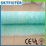 Media de filtro de la fibra de vidrio para el sitio de cabina de aerosol