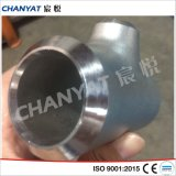 Te de la instalación de tuberías de acero inoxidable de A403 (WP321, S32100) ASTM