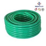 Boyau de tissu-renforcé de l'eau de jardin de PVC pour l'irrigation