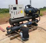 China fornecedor de máquinas de borracha e plásticos industriais de parafuso arrefecidos a ar do Chiller de água de refrigeração