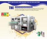 Terminar la máquina de rellenar del jugo fresco automático