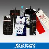 Étiquette de coup de papier d'emballage de chaussure de vêtement de bagage