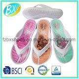 Sandalo caldo delle donne di vendita con stampa del fiore