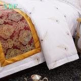 Hospital de luxo personalizado conjunto de roupa de cama impressos de algodão
