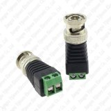Mini co-axial Cat5 ao adaptador video do conetor do Balun da câmera BNC UTP para o sistema do CCTV