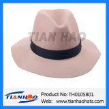 يوسع حاجة [فدورا] ليّنة صوف لباد نساء قبعة