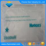 Zoll gedruckter mit Reißverschlussbelüftung-Verpackungs-Beutel für Socken