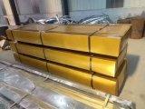 波形の鋼鉄カラー金属はクラッディング屋根か壁シートにパネルをはめる