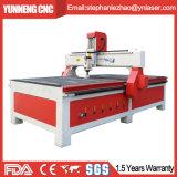 플라스틱 알루미늄 가공 CNC 대패 6040 4개의 축선 조각 기계