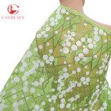 Più nuovo doppio vestito di Tulle del tessuto del merletto di Tulle del panno di maglia di modo