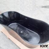 中国の製造者の黒の支えがない石造りの浴槽