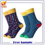 Wholesale alle Art gekopierte glückliche Socken-Qualitäts-Kleid-Socke
