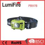 Lampada dell'automobile dell'indicatore luminoso LED della testa del sensore di movimento dell'ABS 3*AAA