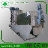 Machine de asséchage d'aérateur de cambouis avec la presse à vis