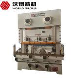 Metal da manivela do dobro do frame de Jh25 160ton C que perfura carimbando a imprensa de potência mecânica