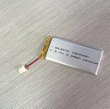 De Batterij Lipo 752042 van het Polymeer 3.7V 450mAh van het lithium