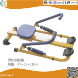 As crianças a equipamento de fitness máquina de remo