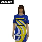Jupes sexy d'uniformes de robes de Netball d'équipe de femmes de sublimation faite sur commande (N009)