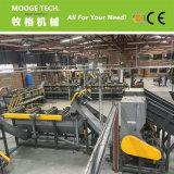 300-3000kg/h resíduos de lavagem do vaso de plástico PET linha de produção de reciclagem