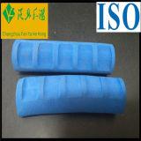 Adhérences de déchirure et de traitement de résistance du tube en caoutchouc