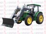 Трактор с фронтальный ковшовый погрузчик для погрузки грузов