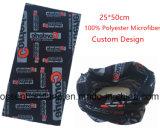 중국 공장 생성 주문 분홍색 폴리에스테 마술 목 관 스카프