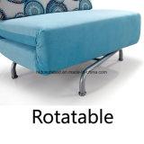 Singolo sofà Cum la presidenza rotativa del sofà di disegno della base
