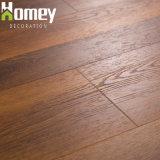 Spc madera veteada de PVC de 3D de diseños de hoja de material de vinilo azulejos pavimentos