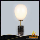Lámpara de vector moderna europea del mármol de la sala de estar (RST9058L-BK)