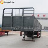 2017 precio de fábrica puerta lateral de remolque de carga