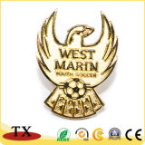 Insigne du football en métal de club du football