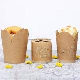 Impreso de la estraza desechables envases de alimentos sacar Box
