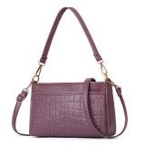 Couro PU Crossbody Bag Mala de senhora sacos de ombro para Mulheres