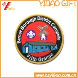 Insigne de broderie d'indicateur, connexions de broderie et étiquette tissée (YB-PATCH-412)