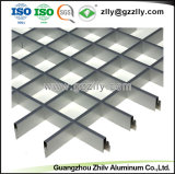 Grille d'aluminium panneau de plafond à cellules ouvertes pour le Shopping Mall