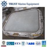 Nave marina Ventana rectangular de acero para el barco