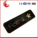 Il metallo su ordinazione in lega di zinco il distintivo della pressofusione per la promozione