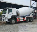 HOWO 9cbm Camión Mezclador de concreto camión de transporte de cemento