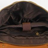 جلد بقر جلد تغطية صليب نوع خيش حقيبة يد الحاسوب المحمول حقيبة ([رس-6807ب])