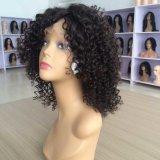 Black Women를 위한 꼬부라진 Full Lace Wig
