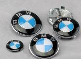 emblema do emblema da capota da capa do carro de 82mm para BMW