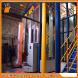 Linea di produzione verticale del rivestimento della polvere di profilo di alluminio 40-60 tonnellate un giorno