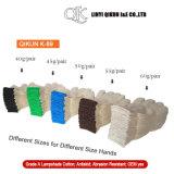 K-89 все перчатки хлопка абажура безопасности размера связанные весом работая