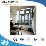 유럽 기준 판매를 위한 이중 유리를 끼우는 알루미늄 여닫이 창 Windows