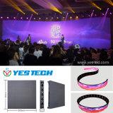P3.9 임대 LED 단계 배경 전시 화면